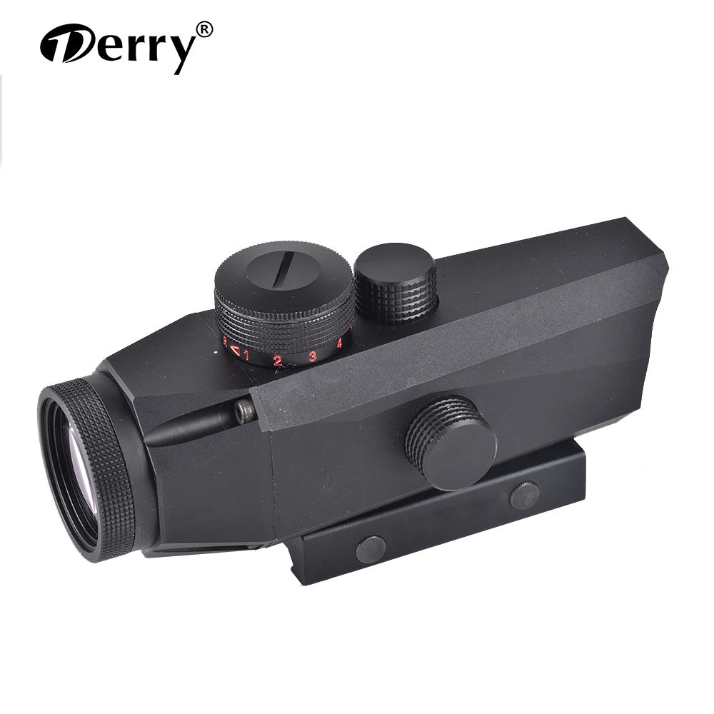 ER Infrared Rifle Scope 3X32 Prismatic scope with Mil Dot Laser Pointer Sight