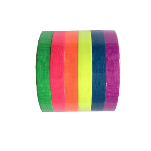 UV blacklight neon fluorescent Gaffer cloth tape