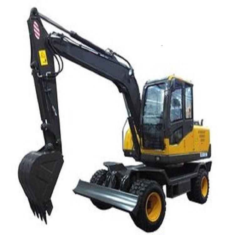 DLS885-9M series wheel hydraulic excavator