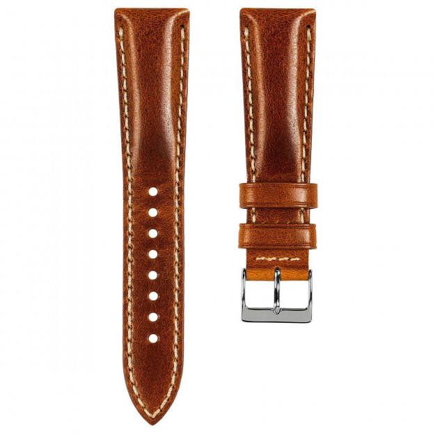 Wholesale Vintage Leather Watch Band Strap Quick Release Exchangable Waterproof 16/18/20/22/24mm Leather Strap brand in bulk