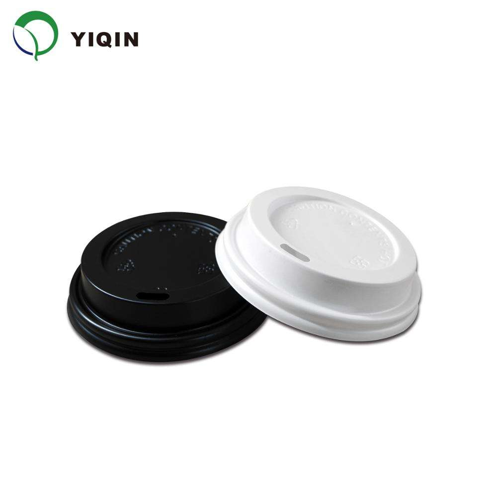 80mm Wholesale Universal Adjustable Cheap Coffee Tea Paper Cup Plastic Lid Cover
