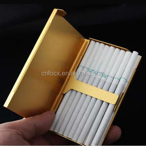 Personality Cigarette Box / Metal Cigarette Case / Tobacco Box
