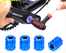24061 19*15mm Risk MTB Road Bike Crank Arm Remove Install Tool Bicycle Chainwheel Cap Tool