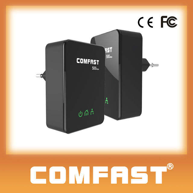 Comfast ( CF-WP500M mới ) <span class=keywords><strong>500</strong></span> Mbps <span class=keywords><strong>Powerline</strong></span> Ethernet