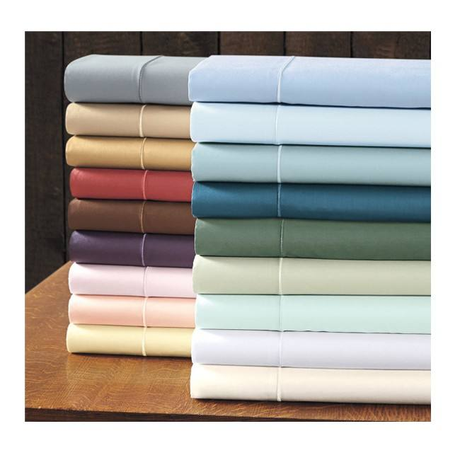 Wholesale Luxury Egyptian Cotton linen bed sheets for hotel and home use