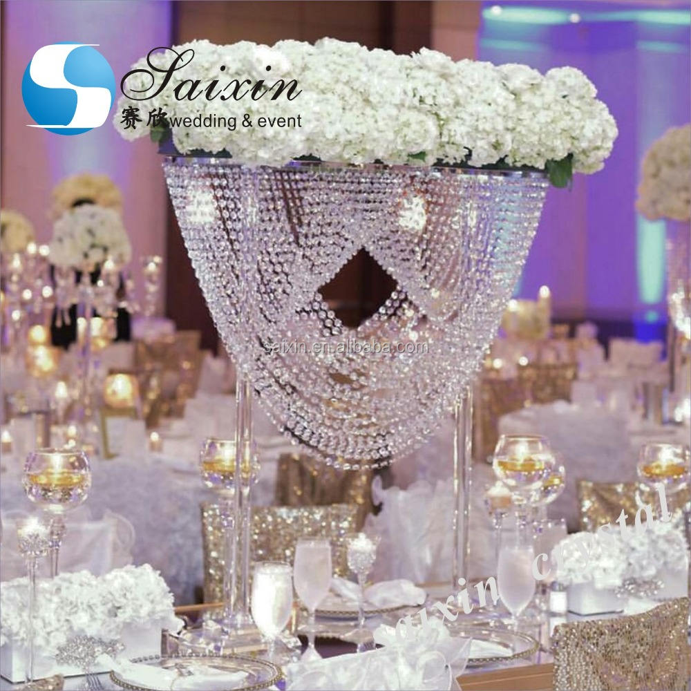 China Manfacturer Bruiloft <span class=keywords><strong>Centerpieces</strong></span> Luxe Crystal ZT-208