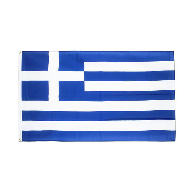 Hanging Greek Flag Polyester standard Flag Banner 3ft x 5ft Greece Flag