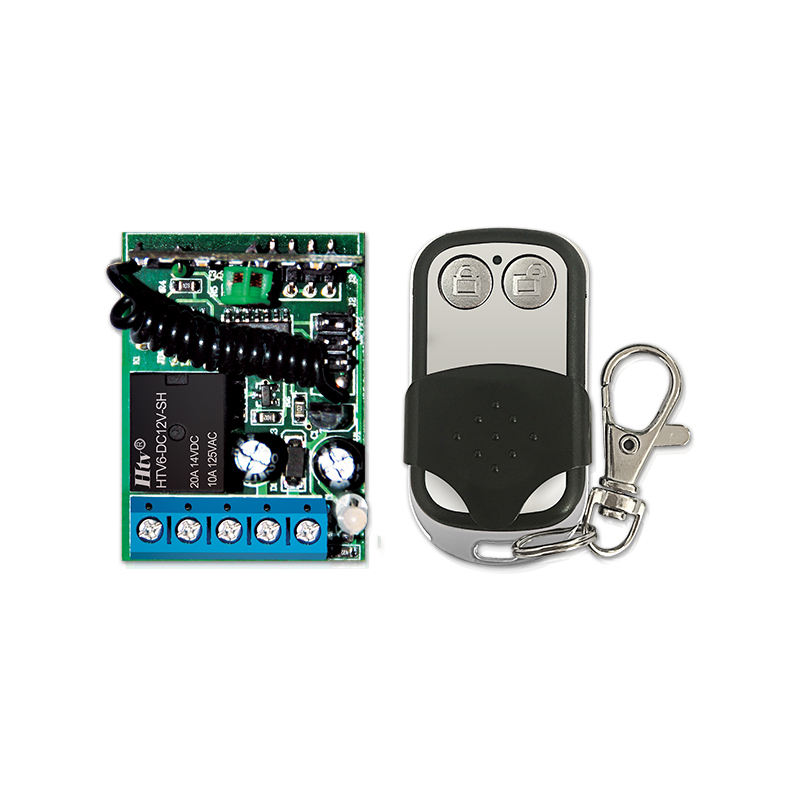 Learning code wireless receiver controller & low power wireless remote control