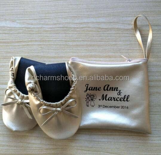 Yosi Samra KSC-237-114 Scarlet Two-Tone Leather Kids Ballet Flats