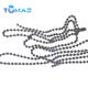 Guangzhou custom ball chains keychain necklace