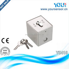 Key switch for roller shutter and garage door system (YS416)