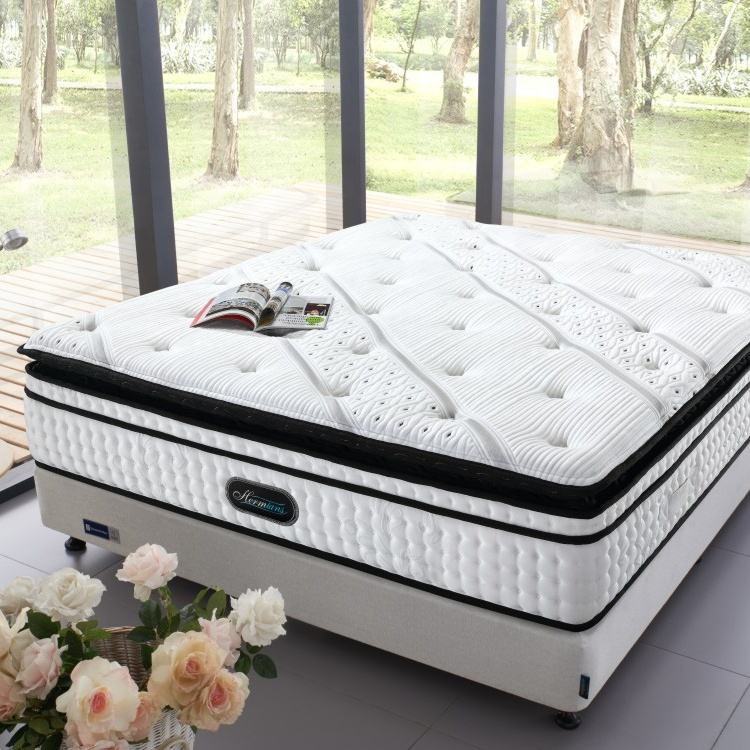 Sweet dream memory foam pocket king size spring mattress