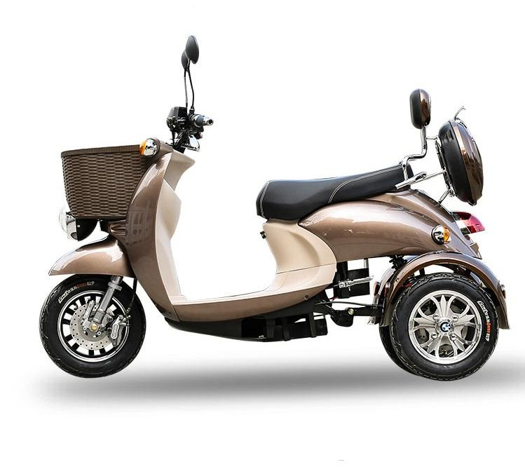 Cheap Tricycle 3 Wheel Scooter Sidecar Adult Motorized for Adults Electric Tricycles