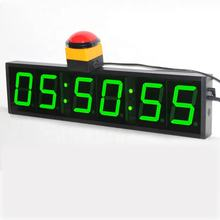 Large Hour Minute Second Display Programable LED Wall Clock Countdown Digital Timer