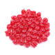 Wholesale Red Rosebud China Crystal Beads 13mm Glass Beads Small Hole Tulip Beads for Jewelry Making