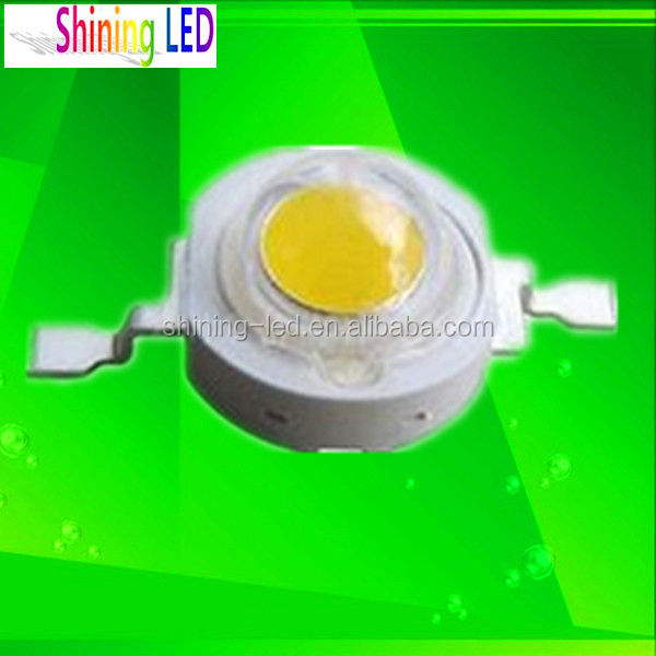 Cost-efficient High Voltage Alternative Current HV Epistar 110V AC 1W LED Diode Warm White 3000K