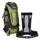 Durable external frame mountaineering hiking camping backpack 80l