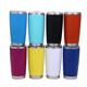 20 30 oz stainless steel insulated metal tumbler cups mugs with lid