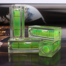 Square spirit level bubble acrylic bubble level vial