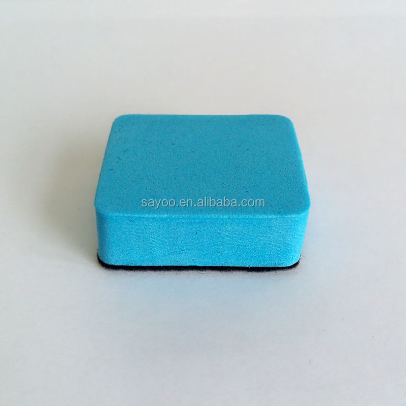 New material color mini EVA whiteboard eraser without magnetic