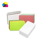 3x5 ,4x6, 5x8 paper rainbow neon pack index review cards