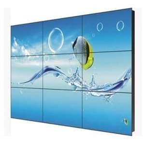 3,5mm naht 55 zoll tv display wand system ultra narrow bezel lcd video wand media 3D TV player