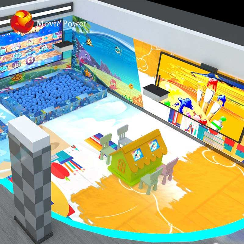 Theme Park Solution 9d Virtual Reality Kids Indoor Playground Equipment Sale