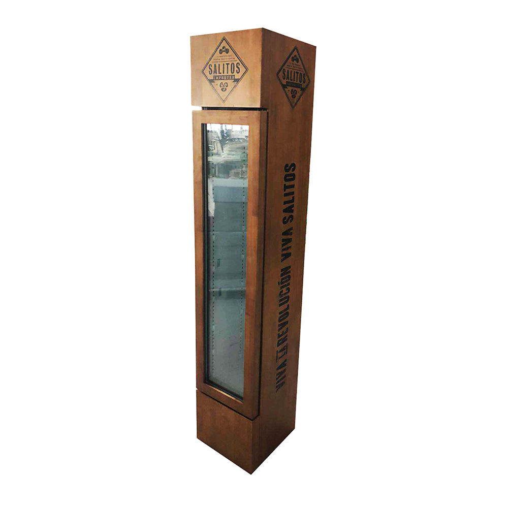 105L Low Price Can be customized Wood Mini Fridge For Home And Hotel SC105B