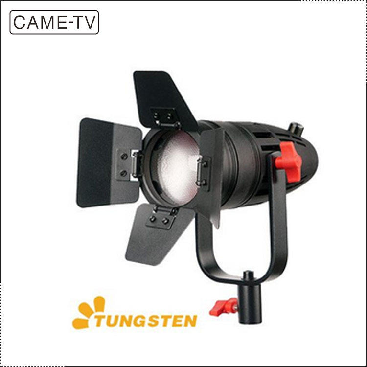 1 Pc CAME-TV Boltzen 30w Fresnel Fanless Focusable Tungsten Video Led Lights With Bag