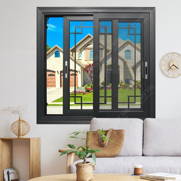 Customized low cost aluminum glass sliding window