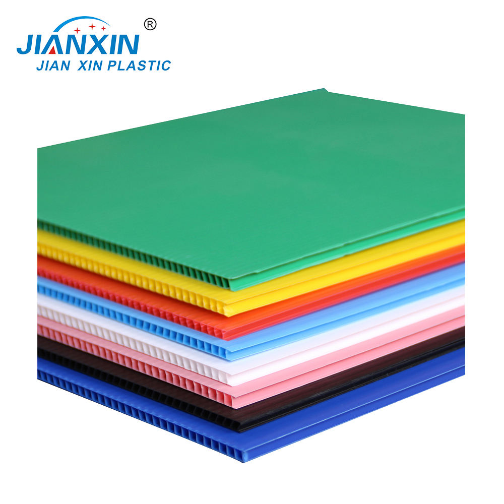 48X96 Twin-wall PP Hollow /Corrugated Plastic Cordek Sheets