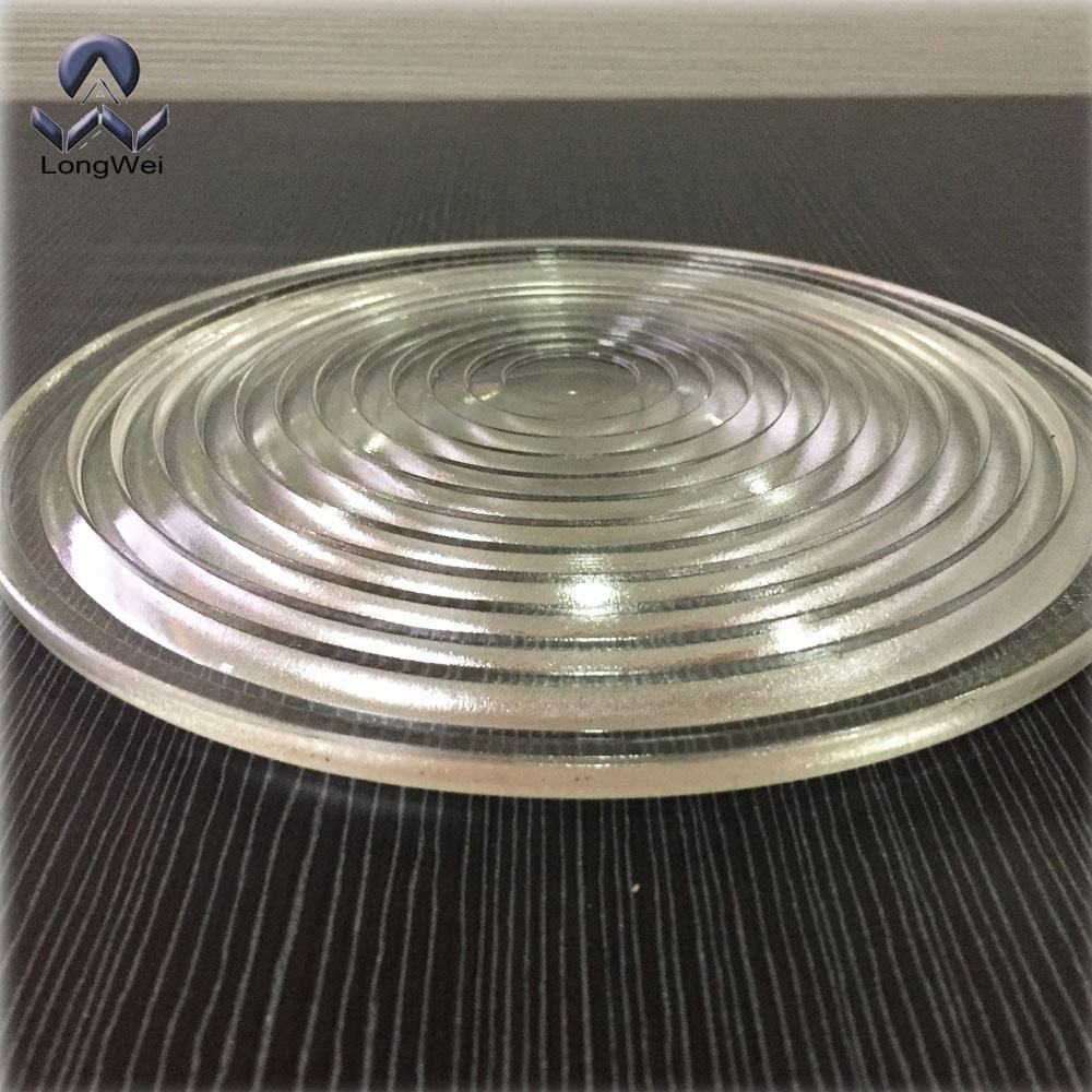 Diameter 200mm Optical Heat Resistant borosilicate Glass Fresnel lens for studios lamp,LED stage light