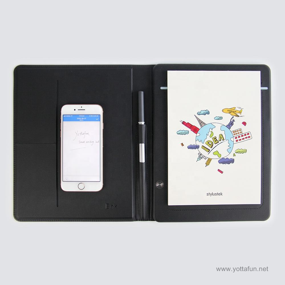 Smart electronic writing pad folio digital writing pad China Factory ODM lcd writing pad support with active stylus pen