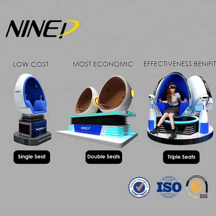 2020 new arrivals New Products arcade virtual reality amusement park egg chair cinema 9d vr machine 9d cinema simulator