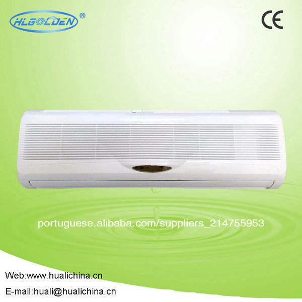 Split fixado na parede da bobina do ventilador, da água de refrigeração da bobina do ventilador