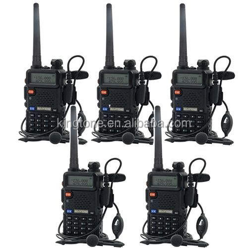 Hot selling 8W Dual Band Vhf Uhf Hands Baofeng uv-5r Licence Free Walkie Talkie Best Range 5-8km