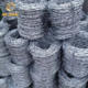 12 gauge double wire galvanized barbed wire