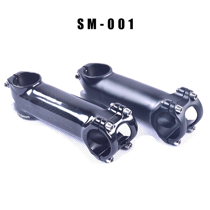 cycling carbon fiber stems Road racing bicycle parts 31.8mm stems 80/90/100/110/120mm Tideace mountain bike
