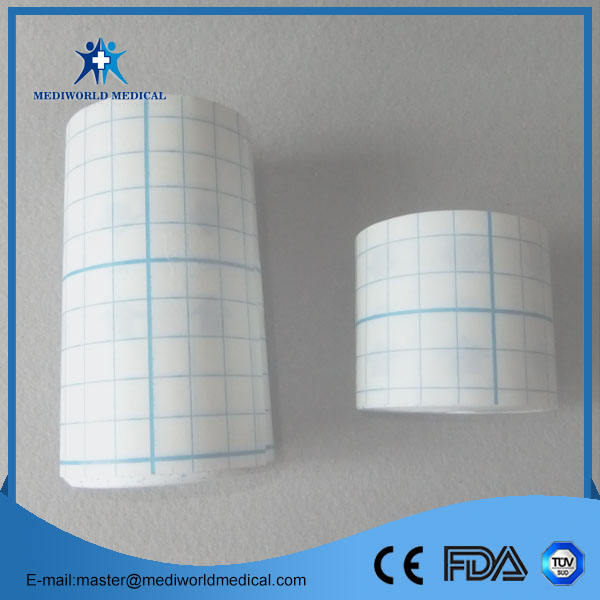Class II [ Rolls ] Transparent Film Dressing Medical Transparent PU Film Dressing Roll/Adhesive Fixation Rolls