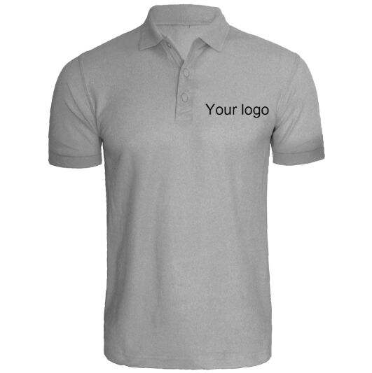 100% polyester men's polo dry fit polo shirt custom golf polo