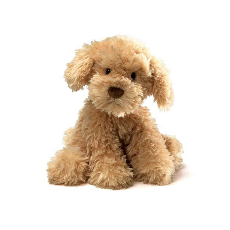 Custom realistic plush dogs walking stuffed animals doll toys