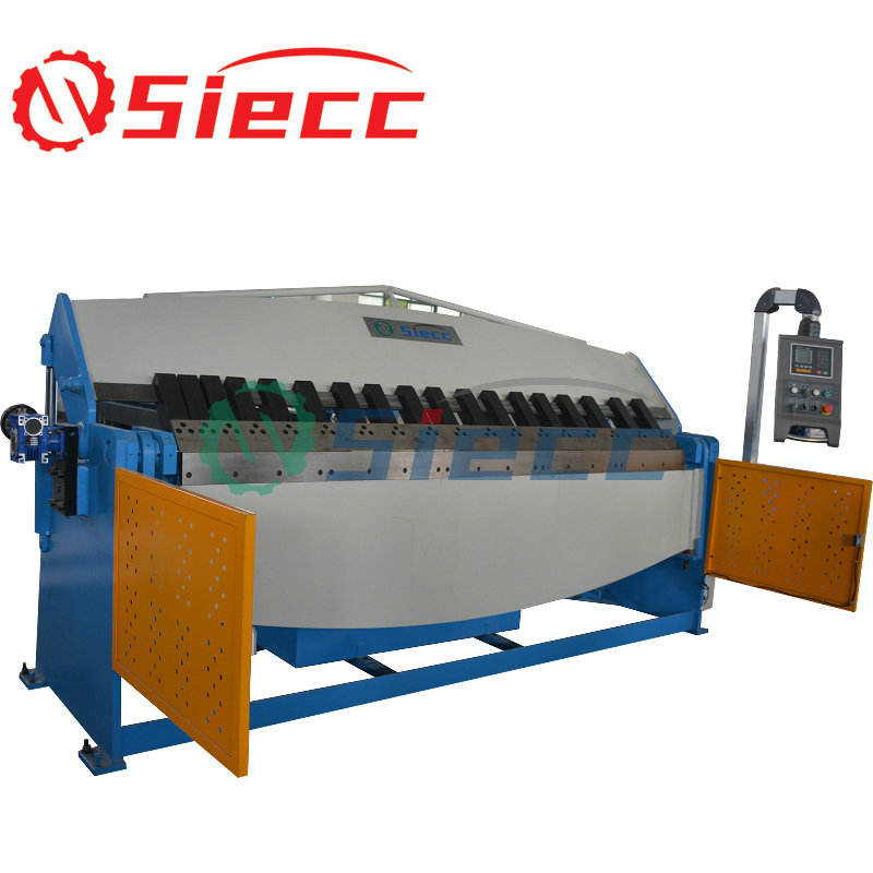 W62K 4x3200 CNC control hydraulic sheet metal folding machine