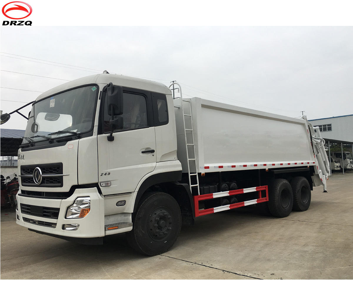 heavy duty 6x4 truck mounted 18000 liters new compactor garbage truck