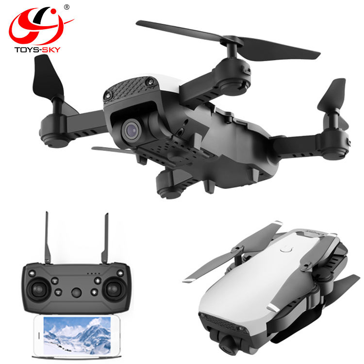 Toysky S163 FPV Drone with 1080P Wide-angle WiFi Camera HD Foldable RC Mini Quadcopter Helicopter VS XS809HW E58 X12 M69 Dron