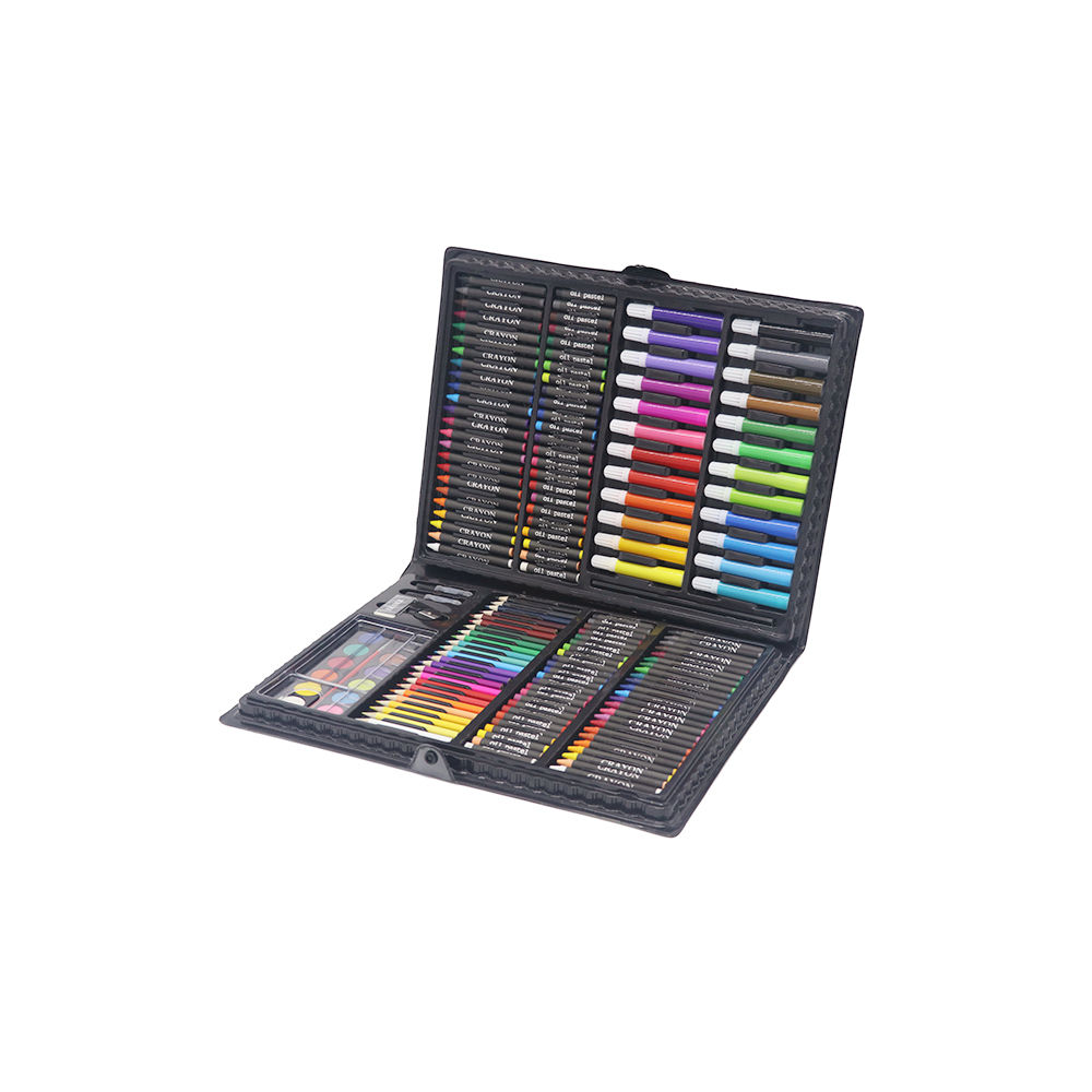 168-Pieces Students Multi-funktionale & Professional Painting Sketch Art Set in Plastic Case