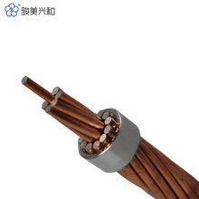 Bare Twisted Copper Wire Copper Clad Steel Stranded Wire