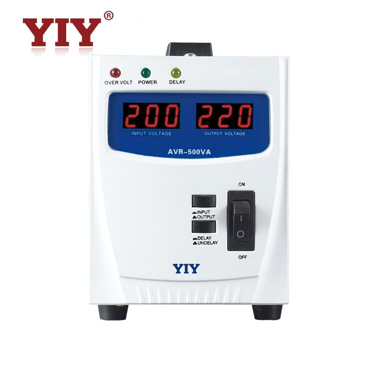 DC to AC relay type 6000va AVR automatic voltage regulator /stabilizer for refrigerator