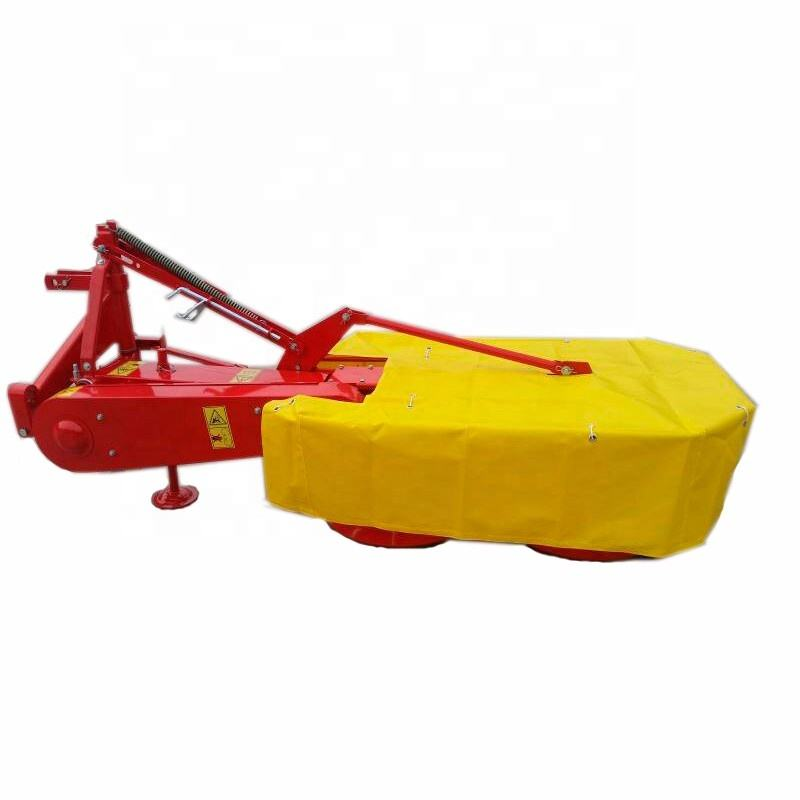 Flail mower 25~60hp Tractor pto drive drum mower rotary disc mower