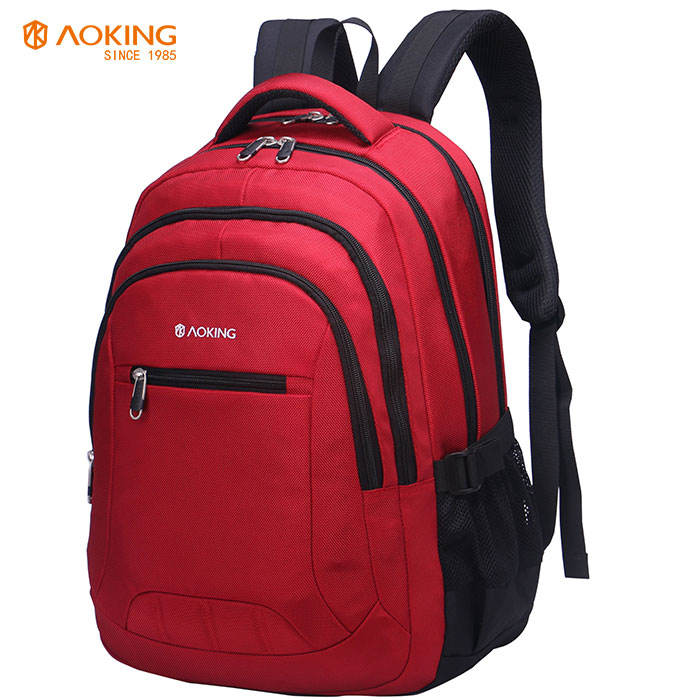 Logo Backpack Bag Aoking Oem Embroidered Logo Business Backpack Laptop 17 Inch Bagpack Bags For Men Backpack And Women