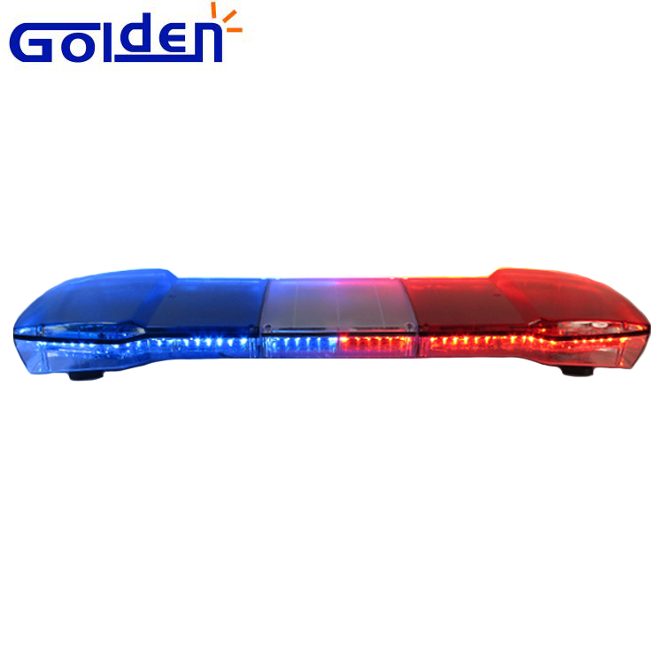 DC12V rot blau led-leuchte dach mount warning bar polizei krankenwagen blinkende lichter